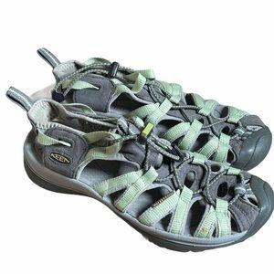 KEEN Women's 'Whisper' Closed-Toe Sandal Size 8